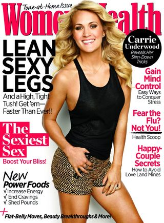 Carrie Underwood womens health
