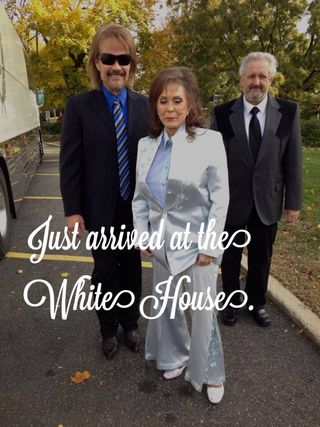 Loretta Lynn white house