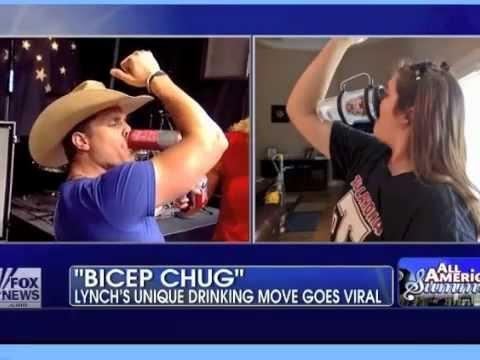 Dustin lynch biceps chug