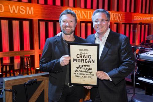 Craig Morgan Grand Ole Opry honor