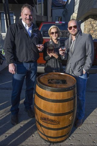 Kellie Pickler, Kyle Jacobs, and Jack Daniels' Jeff Arnett Dec 16 2013