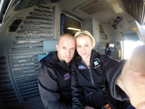 Kellie Pickler plane selfie