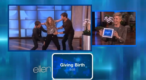 Keith Urban birth on ellen