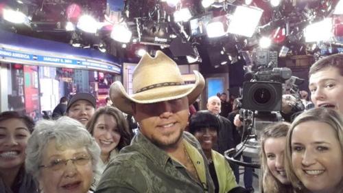 Jason on Good Morning America