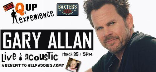 Gary Allan benefit concert