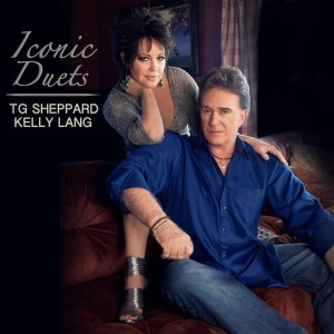 Kelly Lang & TG Sheppard - Iconic Duets album cover art