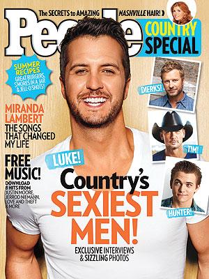 Luke bryan people sexiest