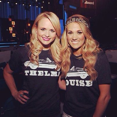 Carrie and Miranda