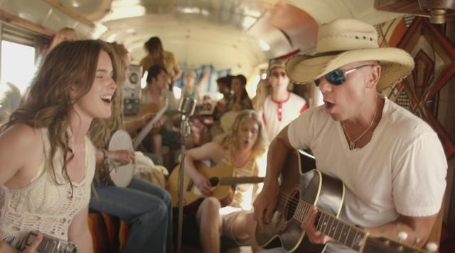 Kenny Chesney American kids video