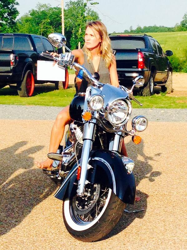 Carrie Underwood big bike