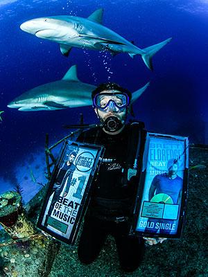 Brett Eldredge sharks