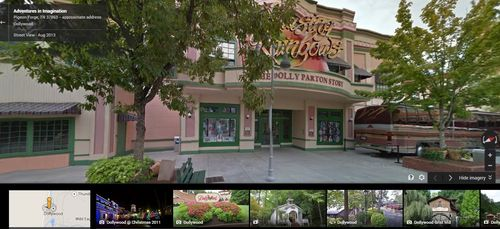 Dollywood street view