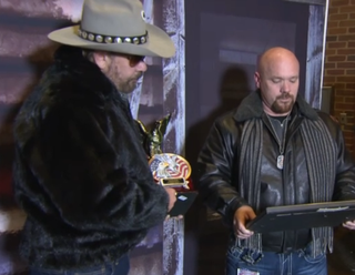 Hank Williams, Jr. patriot award