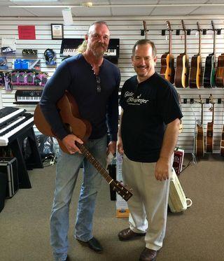 Trace guitar shop