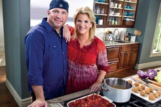 Garth and Trisha food network