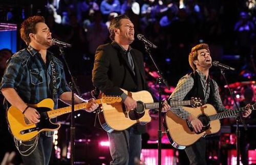 Blake Shelton the swon brothers