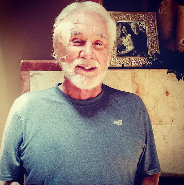 Kenny Rogers skin cancer