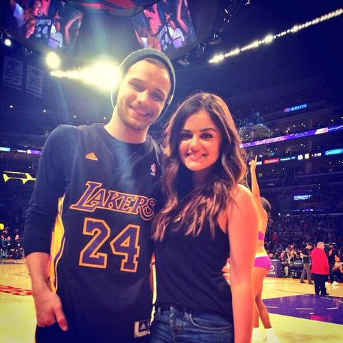 Joel Crouse and Lucy Hale
