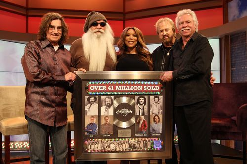 The Oak Ridge Boys honored with plaque