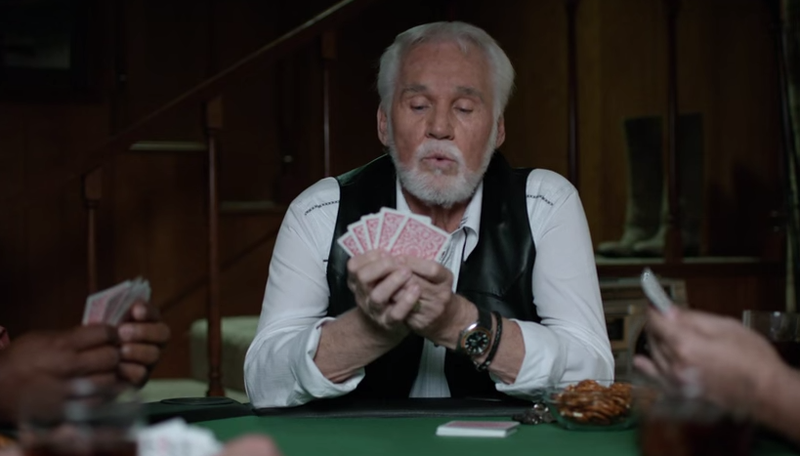 Kenny Rogers Geico commercial
