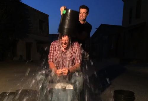 Blake Shelton ALS Bucket challenge