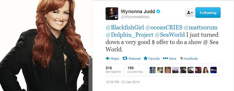 Wynonna SeaWorld