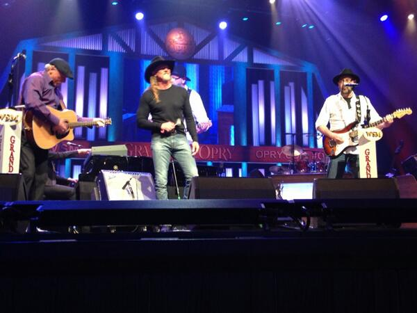 Trace at the opry