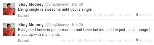 Shay tweets