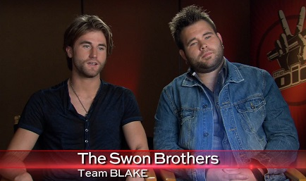 The-Swon-Brothers the voice