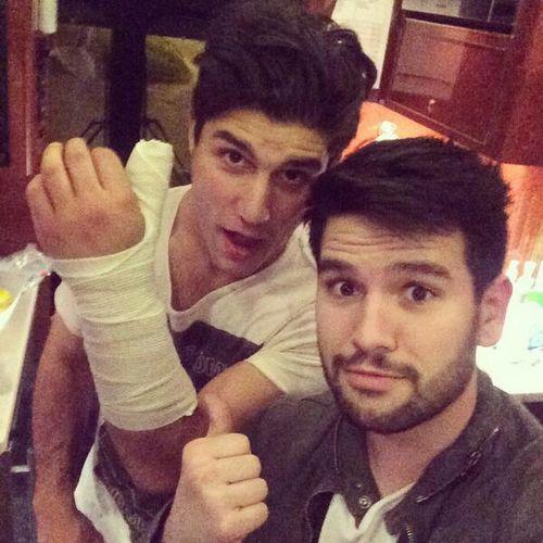 Dans broken arm