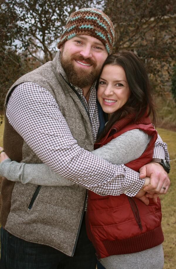 Zac brown and wife
