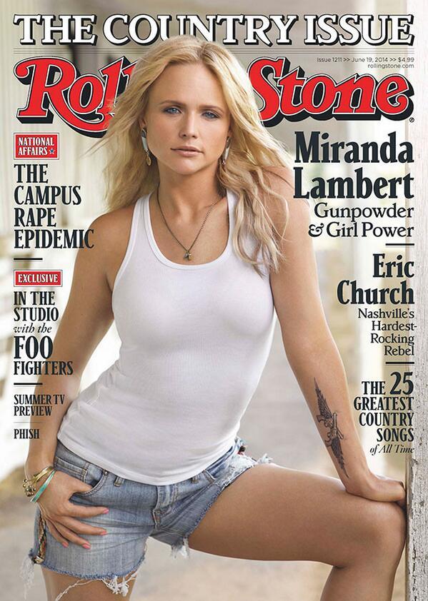 Miranda Lambert rolling stone