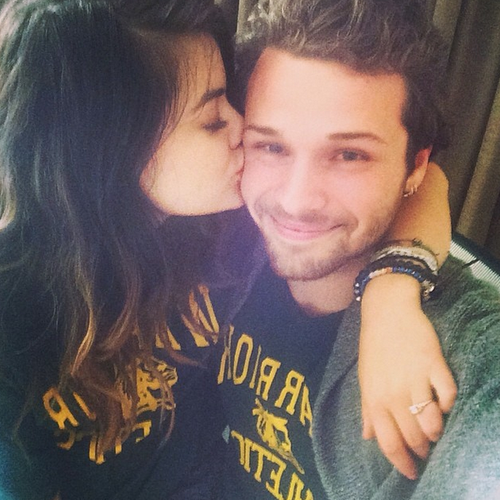 Lucy Hale Joel Crouse engagement ring