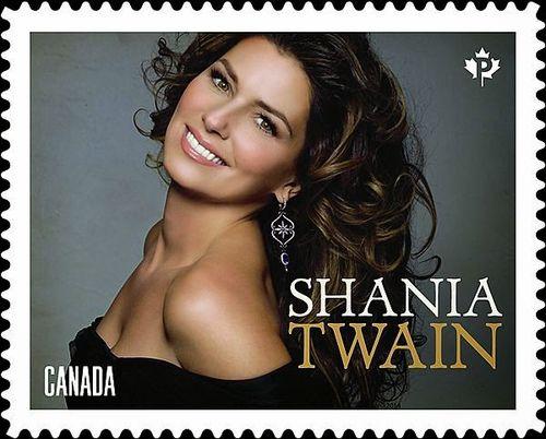 Shania stamp