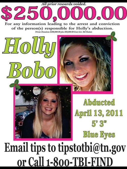 Holly Bobo poster