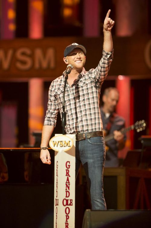 Cole Swindell at the Opry