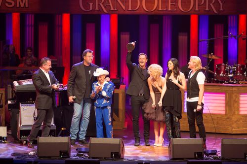 Little Big Town induction Hollo 8271 10-17-14
