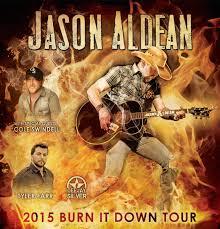 Jason Aldean burnin it down 2015
