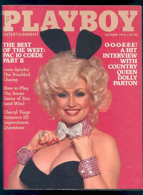 Dolly Parton playboy cover