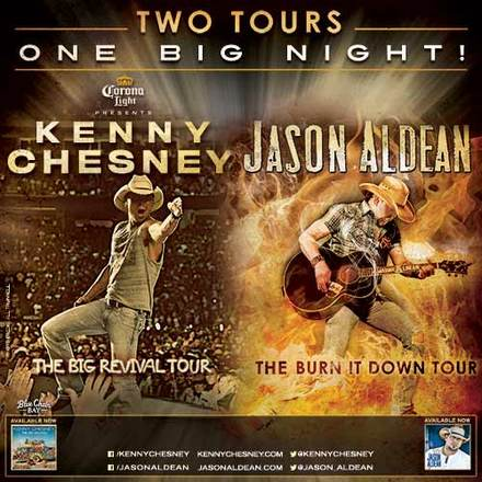 Jason Aldean Kenny Chesney tour