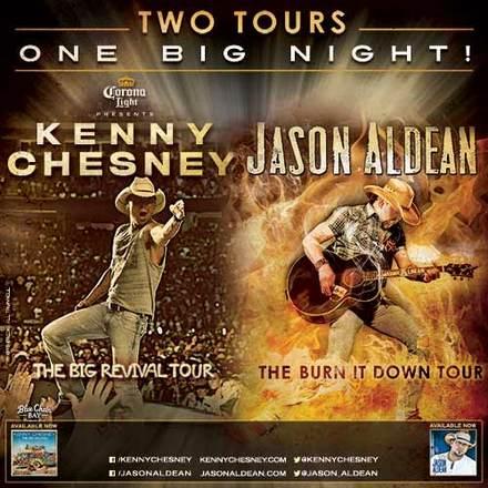 Jason Aldean Kenny Chesney tour