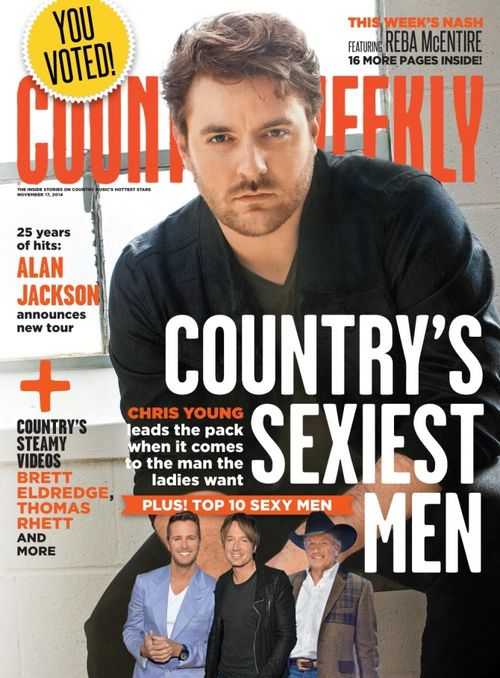 Like it or not, Chris Young is country music's sexiest man