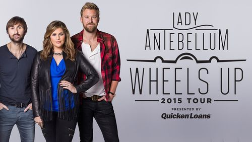 Lady Antebellum Wheels Up Tour