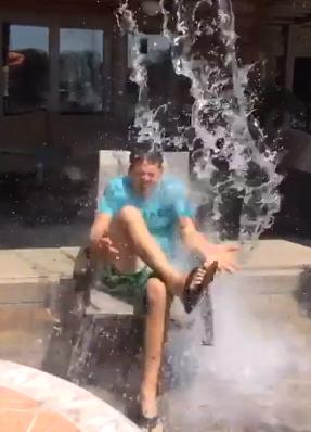 Gary Allan Ice Bucket Challenge 2