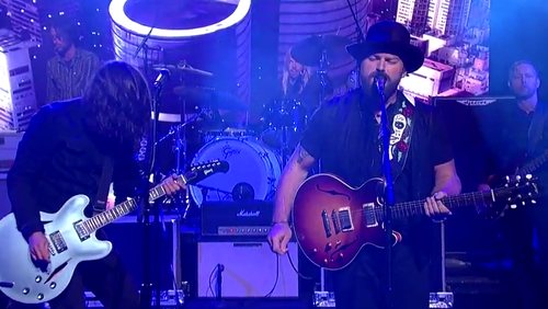 Zac brown dave grohl war pigs