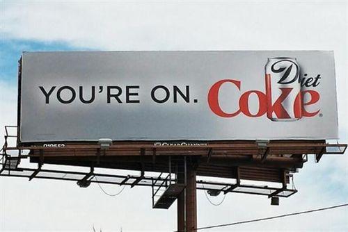 You're on coke