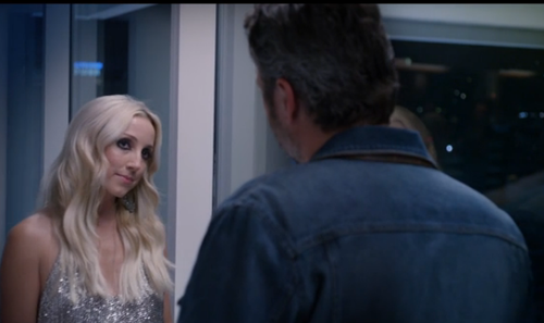 Blake Shelton and Ashley Monroe