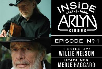 Willie Nelson Inside Arlyn Studios