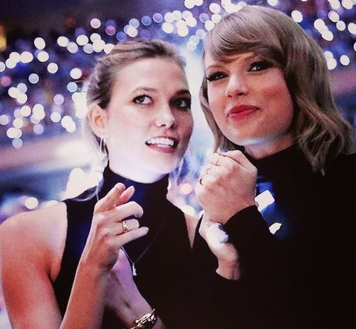 Taylor Swift and Karlie