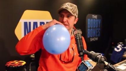 Luke Bryan helium singing